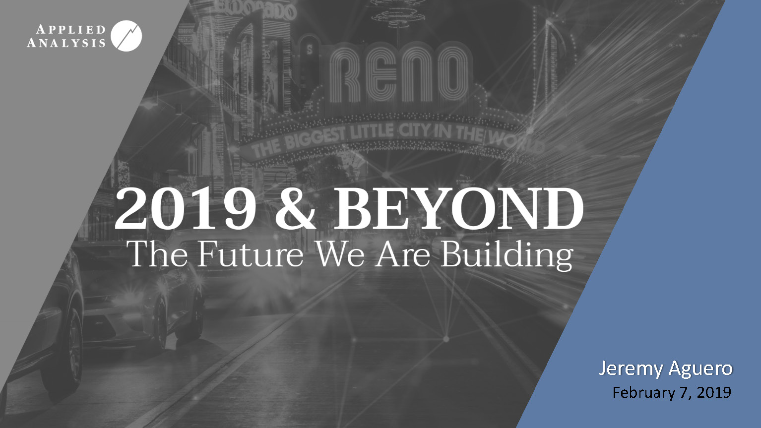 Economic Development Authority of Western Nevada 2019 & Beyond: The Future We Are Building