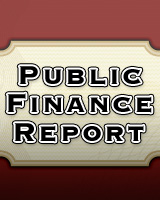 Cover, Applied Analysis Public Finance Report